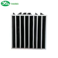 Wholesale Multi Pocket Activated Carbon Air Filter Bag Structure For Air Filtration from china suppliers