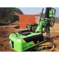 Buy cheap Borewell Drilling Machine / Hydraulic Piling Rig For Bridge Construction from wholesalers
