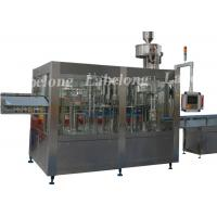 Small Capacity Pet Bottle Water Filling Machine , PLC Control Water Packing Machine