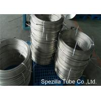 Wholesale TP304 38 stainless steel tubing coil Polished For Instrumentation Oil Resistance from china suppliers