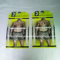 Buy cheap Thick PE Underwear Resealable Plastic Bags , Clothing Store Sticky Bone Foil Zip from wholesalers