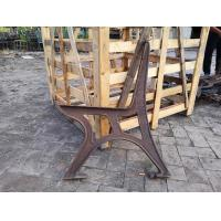 Wholesale Durable Outdoor Garden Cast Iron Bench Ends Armrest For Public Park from china suppliers