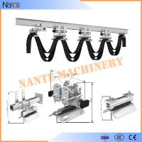 Wholesale Cable Ball bearing H / I Beam Trolley Festoon System With Neoprene Bumper 300m/min from china suppliers