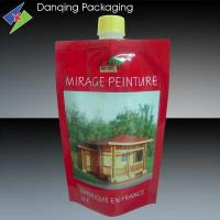 Wholesale fruit juice doypack pouch, stand up pouch,liquid stand up pouch with spout from china suppliers