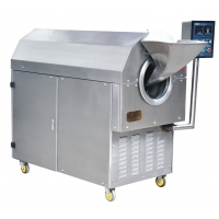 Wholesale Electric Rotary SS304 4kw Chestnut Roasting Machine from china suppliers