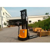 Quality 1200kg Narrow Width Walking Operating Electric Lift Pallet Stacker With for sale