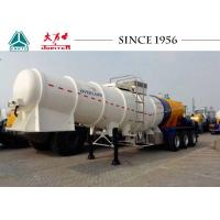 Wholesale Heavy Duty 3 Axles Acid Tanker Trailer High Tensile Carbon Steel Body Material from china suppliers