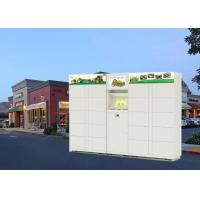 Buy cheap Phone Number Access Parcel Delivery Lockers With Safety Web Camera from wholesalers