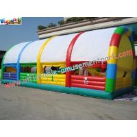 Wholesale Custom Giant Inflatable Amusement Park , PVC Inflatable Park from china suppliers