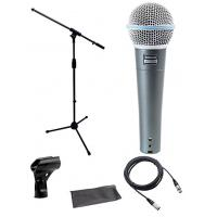Buy cheap Shure Beta 58a Microphone Bundle Stage Stand With XLR Cable DMS003-KIT from wholesalers