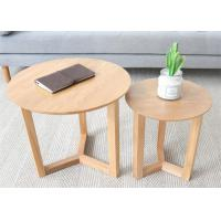 China Hotel Rooms Beech Light Wood Solid Wood Side Table Size Customized High Grade on sale