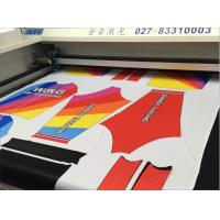 Wholesale Vision Camera Laser Cutting Machine For Sublimation Printed Baseball uniforms from china suppliers