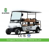 Buy cheap Luxury Driving Cabin Club Car 6 Passenger Golf Cart With 2 External Rearview from wholesalers