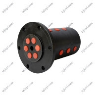 Wholesale 6 passages G 1'' high pressure hydraulic rotary joint for lifting equipment from china suppliers
