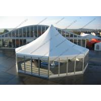 Buy cheap Permanent Octagonal Blue Peak Tents from wholesalers