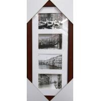 Wholesale Hot sale PS photo frame brown photo frame multiple photo frame home decoration from china suppliers