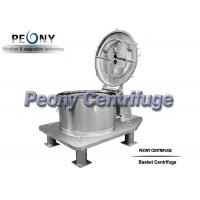 Buy cheap Alcohol Washing and Drying Pharmaceutical Centrifuge for Cannabis Extraction from wholesalers