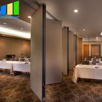 China Acoustic Room Dividers Online India Hall Partition Movable Partition For 5 Star Hotel on sale