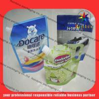 Wholesale lovely detergent spout pouch packaging with hang hole from china suppliers