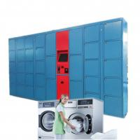 Buy cheap Automatic Dry Locker Laundry with Stainless Steel Keypad Fully Customized from wholesalers