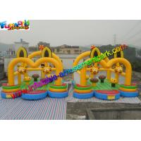 Wholesale Cat Inflatable Commercial Bouncy Castles / Inflatable Jumping House Waterproof from china suppliers