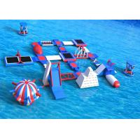Buy cheap Commercial 0.9 mm PVC Inflatable Amusement Park / Inflatable Water Play from wholesalers