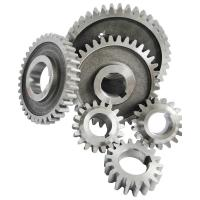 Wholesale Carbon steel Diesel Engine Gear S195 S1100 Gear sets 6pcs/set nitriding black color from china suppliers