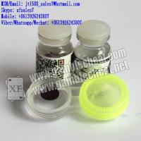 Wholesale XF natural light UV brown contact lenses for marked cards/cards cheat/contact lenses/invisible ink from china suppliers