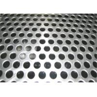 Wholesale Beauty Round Hole Shape Perforated Steel Mesh Sheets Galvanized 5-10mm Diameter from china suppliers
