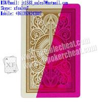 Wholesale XF brand KEM plastic UV marked cards yellow color for contact lenses from china suppliers