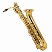 Wholesale Gold Lacquer Brass Baritone Saxophone from china suppliers
