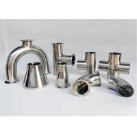Wholesale Kaiquan Stainless Steel Pipe Fittings Size Customized For Milk Dairy Industry from china suppliers