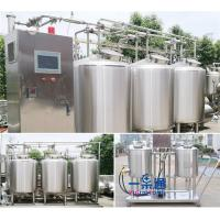 Wholesale Whole Set Type CIP Washing System In Small Scale Stainless Steel 304 / 316L Material from china suppliers