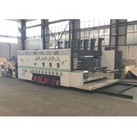 China Computer Controlled Flexo Printer Slotter For Corrugated Carton Boxes Durable on sale