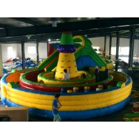 Wholesale Eco Friendly Bouncer Castle Inflatable Amusement Park Blow Up Princess Jumping Castle from china suppliers