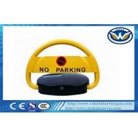 China IP68 Waterproof Steel Automatic Remote Car Parking Locks in Yellow on sale