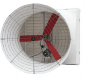 Wholesale YDA018 6 Fiberglass Blades 750W Wind Exhaust Fan from china suppliers