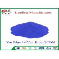 Wholesale Textile Dyestuff Blue Indigo Dye C I Vat Blue 14  Vat Dyes For Cotton from china suppliers