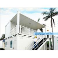 Wholesale Galvanized Steel Mobile Container Homes Aluminum Alloy Window Wind Resistance from china suppliers