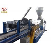 China Horizontal Plastic Extrusion Machine For Corn Starch + PP Biodegradable PLA Pellet on sale