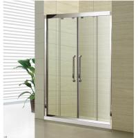 Buy cheap Stainless Steel Double Sliding Frameled Simple Enclosed Shower Cabin from wholesalers