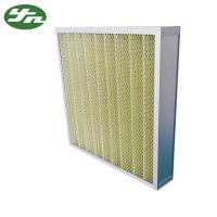 Quality Folded Plate Pocket Air Filter F8 Medium Efficiency For Primary Filtration for sale