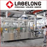 Wholesale 304 Stainless Steel Juice Bottling Machine For Beverage Kiwi / Orange Juice from china suppliers