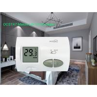 Buy cheap White Color Antiflammable Non-prgrammable Room Thermostat for Heating and from wholesalers