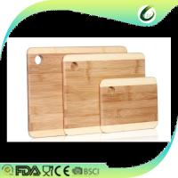 China olive wood cutting board with hole on sale
