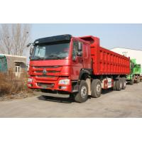 Wholesale Howo 8×4 Heavy Dump Truck 50 Tons Loading For Mining Model ZZ3317N4267A / S0WA from china suppliers