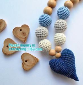 Buy cheap Baby sling necklace, baby bracelet, crochet bracelet, teething bracelet, crochet from wholesalers