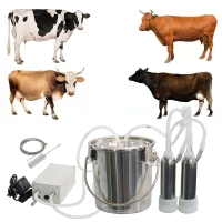 Wholesale Portable Dairy Farm Simple Pulse Goat Milker Vacuum Pulsation from china suppliers