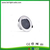 China Hot selling aluminum 3 inch 5W LED downlights with 400 lumen and concealed installation on sale