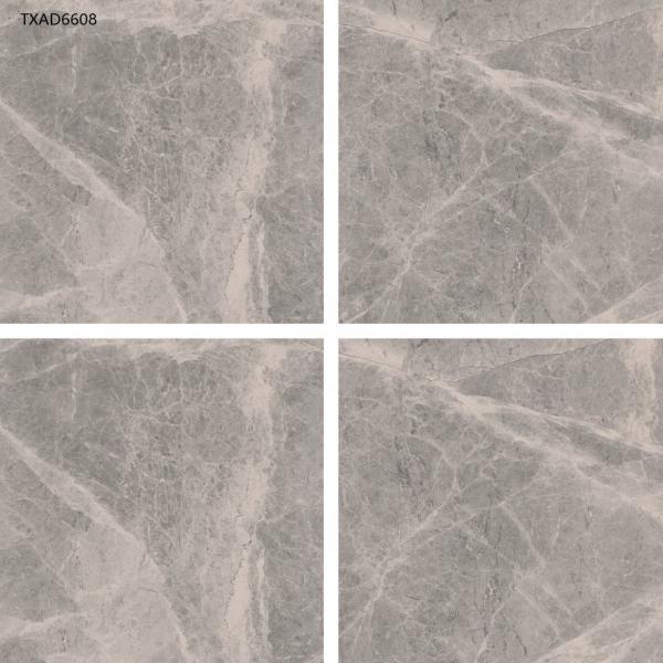 Quality 60x60 Matt Rustic Glazed Polished Porcelain Floor Tile  Washroom 0.5% W.A. Natural Stone Color for sale